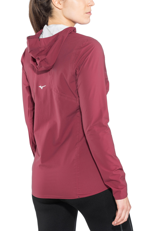 626a87aaa93b9 Mizuno Endura 20K - Chaqueta Running Mujer - rojo